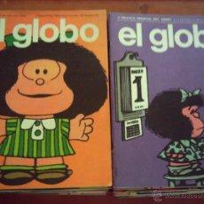 Tebeos: EL GLOBO. BURU LAN. COLECCIÓN COMPLETA.. Lote 39514184
