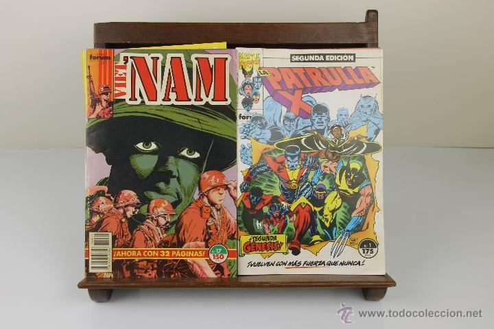 3923- LOTE DE 11 COMICS DE AVENTURAS Y SUPER HEROES. MARVEL, FORUM. VER DESCRIPCION. AÑOS 80. (Tebeos y Comics - Tebeos Colecciones y Lotes Avanzados)