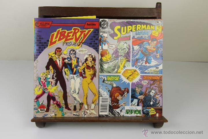 Tebeos: 3923- LOTE DE 11 COMICS DE AVENTURAS Y SUPER HEROES. MARVEL, FORUM. VER DESCRIPCION. AÑOS 80. - Foto 2 - 39608706