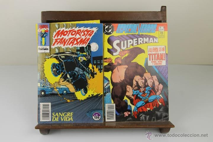 Tebeos: 3923- LOTE DE 11 COMICS DE AVENTURAS Y SUPER HEROES. MARVEL, FORUM. VER DESCRIPCION. AÑOS 80. - Foto 3 - 39608706