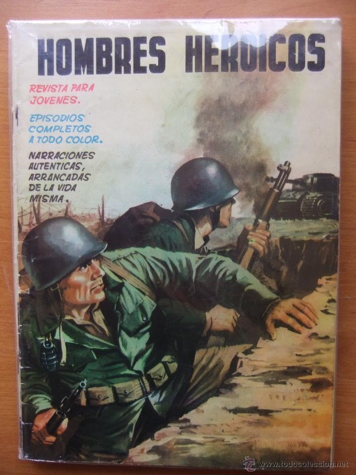 HOMBRES HEROICOS COLECCION COMPLETA (Tebeos y Comics - Tebeos Colecciones y Lotes Avanzados)
