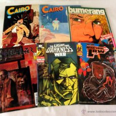 Tebeos: LOTE VARIADO DE COMICS * MARSHAL LAW * CAIRO * THE LIGHT AND DARKNESS WAR * HELLBLAZER * BUMERANG. Lote 39932690