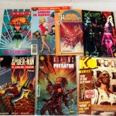 Tebeos: LOTE VARIADO DE 7 COMICS * HAWKMON 12 * EXCALIBUR LA POSESION * THE AMAZING SPIDER-MAN * KO COMICS. Lote 39937684