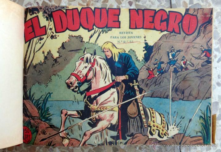 DUQUE NEGRO , MAGA , COLECCION COMPLETA , UN TOMO 42 EJEMPLARES, ORIGINALES (Tebeos y Comics - Tebeos Colecciones y Lotes Avanzados)