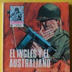 Tebeos: REVISTA COMBATE - EL INGLÉS Y EL AUSTRALIANO NO. 221 AÑO 1980 . Lote 40047760