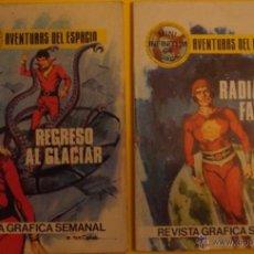 Tebeos: AVENTURAS DEL ESPACIO - REGRESO AL GLACIAR NO.36 - RADIACIÓN FATAL NO.20 AÑO 1980 . Lote 40047827