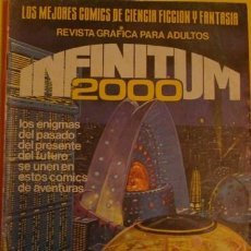 Tebeos: INFINITUM 2000 INTENTO DE SUPERVIVENCIA NO.3 AÑO 1980. Lote 40048049
