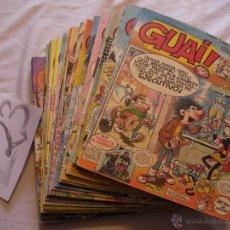 Tebeos: LOTE DE ANTIGUOS COMICS GUAI!. Lote 40345949