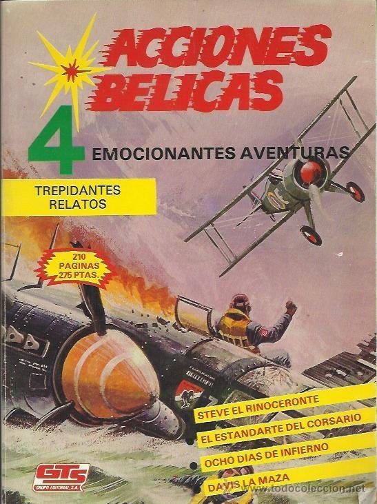 Tebeos: ACCIONES BÉLICAS ( GTS ) 1988 LOTE - Foto 3 - 40485934