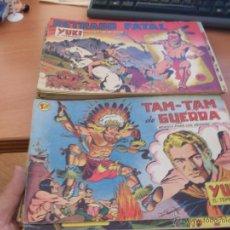 Tebeos: YUKI EL TEMERARIO. LOTE 62 ORIGINALES ED. VALENCIANA (CLA4). Lote 40757436