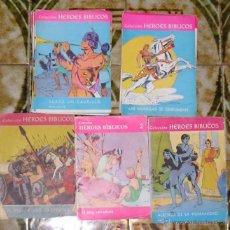 Tebeos: HEROES BIBLICOS LOTE Nº 1 AL 30. Lote 41086064