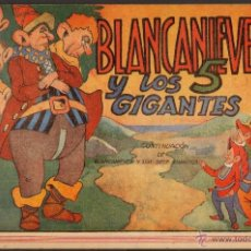 Tebeos: TEBEOS-COMICS CANDY - BLANCANIEVES - COMPLETA ED. AMELLER 1945 ***AA98. Lote 41349388