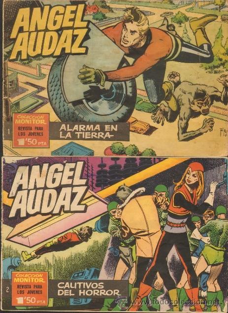 TEBEOS-COMICS CANDY - ANGEL AUDAZ - IBEROMUNDIAL - 1962 - RIPOLL G - COMPLETA - ORIGINAL **CC99 (Tebeos y Comics - Tebeos Colecciones y Lotes Avanzados)