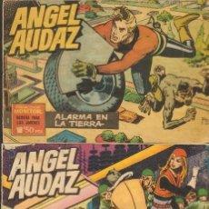 Tebeos: TEBEOS-COMICS CANDY - ANGEL AUDAZ - IBEROMUNDIAL - 1962 - RIPOLL G - COMPLETA - ORIGINAL **CC99. Lote 41385588