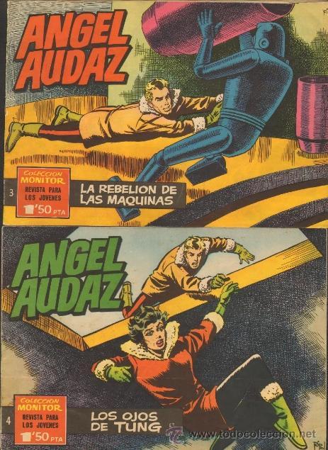 Tebeos: TEBEOS-COMICS CANDY - ANGEL AUDAZ - IBEROMUNDIAL - 1962 - RIPOLL G - COMPLETA - ORIGINAL **cc99 - Foto 2 - 41385588
