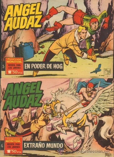 Tebeos: TEBEOS-COMICS CANDY - ANGEL AUDAZ - IBEROMUNDIAL - 1962 - RIPOLL G - COMPLETA - ORIGINAL **cc99 - Foto 3 - 41385588