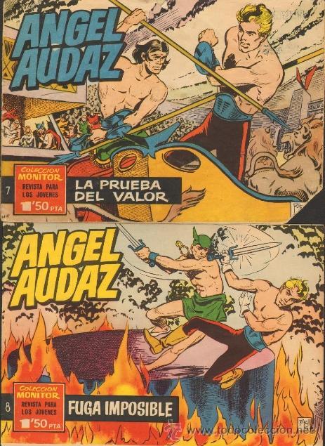 Tebeos: TEBEOS-COMICS CANDY - ANGEL AUDAZ - IBEROMUNDIAL - 1962 - RIPOLL G - COMPLETA - ORIGINAL **cc99 - Foto 4 - 41385588