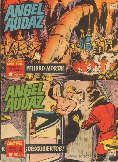 Tebeos: TEBEOS-COMICS CANDY - ANGEL AUDAZ - IBEROMUNDIAL - 1962 - RIPOLL G - COMPLETA - ORIGINAL **cc99 - Foto 5 - 41385588