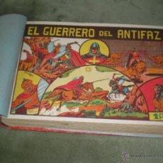 Tebeos: EL GUERRERO DEL ANTIFAZ DEL 1 AL 50. Lote 41539218