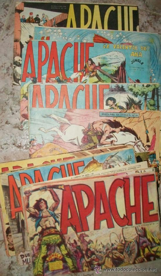 APACHE 1ª 56 EJ (COMPLETA ORIGINAL) (Tebeos y Comics - Tebeos Colecciones y Lotes Avanzados)