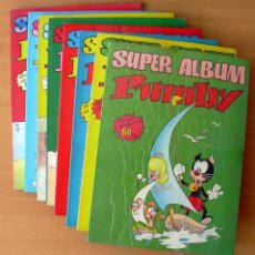 Tebeos: SUPER ÁLBUM PUMBY - COMPLETA 8 EJEMPLARES - EDT. VALENCIANA 1978 - VER FOTOS INTERIORES. Lote 42459406