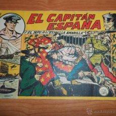 Tebeos: EL CAPITAN ESPAÑA COLECCION COMPLETA ORIGINAL EDITORIAL MAGA 1956 FALTA EL 29. Lote 42608757