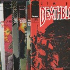 Tebeos: DEATHBLOW VOL.1. JIM LEE. 12 NUMEROS. COLECCIÓN COMPLETA.DA. Lote 42695377