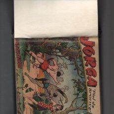 Tebeos: JORGA PIEL DE BRONCE ALBUM - COLECCION ORIGINAL ENCUADERNADA - B 11. Lote 42833735