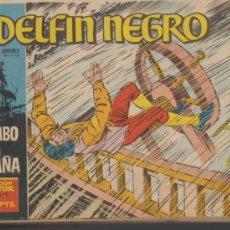 Tebeos: EL DELFÍN NEGRO. IBEROMUNDIAL 1964. COLECCIÓN COMPLETA 42 EJEMPLARES.. Lote 37039037