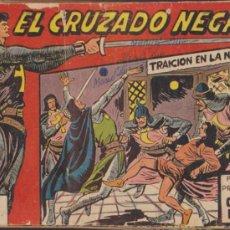 Tebeos: EL CRUZADO NEGRO. MAGA 1961. COLECCIÓN COMPLETA 56 EJEMPLARES.. Lote 37040161