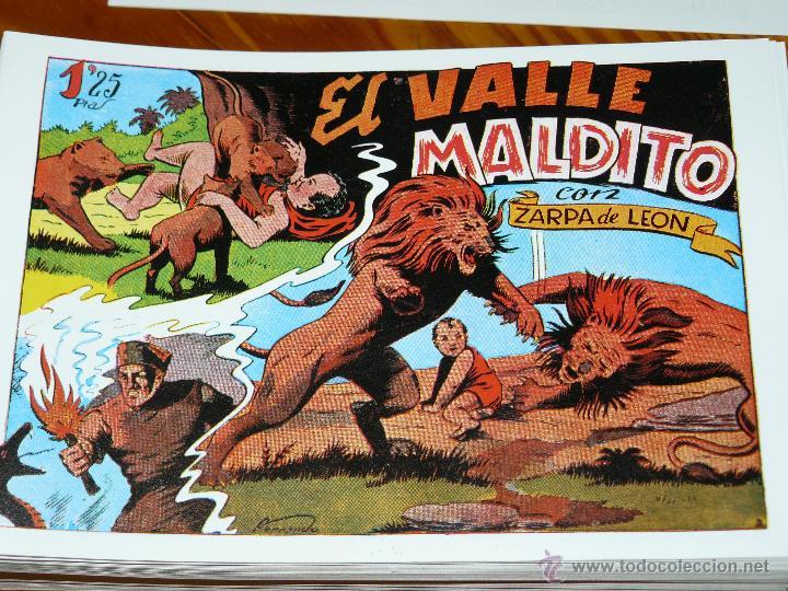 TEBEOS-COMICS CANDY - ZARPA DE LEON - 1949 - TORAY - COMPLETA 60 EJ. - FERRANDO *AA99 (Tebeos y Comics - Tebeos Colecciones y Lotes Avanzados)