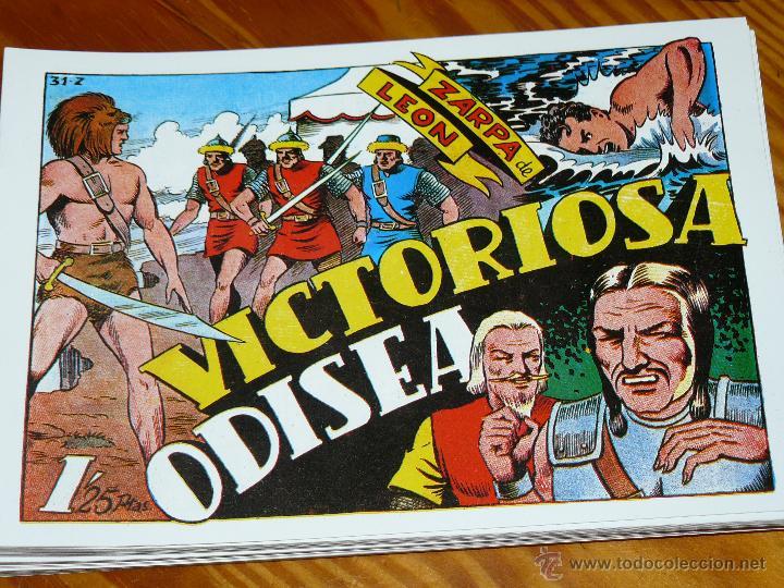 Tebeos: TEBEOS-COMICS CANDY - ZARPA DE LEON - 1949 - TORAY - COMPLETA 60 EJ. - FERRANDO *AA99 - Foto 2 - 43064589