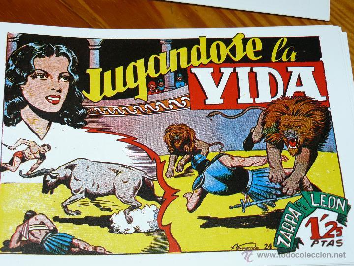 Tebeos: TEBEOS-COMICS CANDY - ZARPA DE LEON - 1949 - TORAY - COMPLETA 60 EJ. - FERRANDO *AA99 - Foto 3 - 43064589