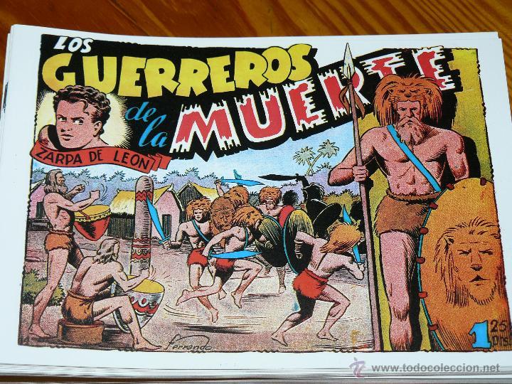 Tebeos: TEBEOS-COMICS CANDY - ZARPA DE LEON - 1949 - TORAY - COMPLETA 60 EJ. - FERRANDO *AA99 - Foto 4 - 43064589