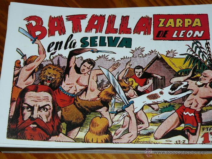 Tebeos: TEBEOS-COMICS CANDY - ZARPA DE LEON - 1949 - TORAY - COMPLETA 60 EJ. - FERRANDO *AA99 - Foto 5 - 43064589