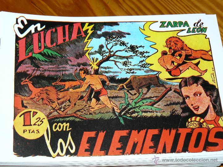 Tebeos: TEBEOS-COMICS CANDY - ZARPA DE LEON - 1949 - TORAY - COMPLETA 60 EJ. - FERRANDO *AA99 - Foto 6 - 43064589