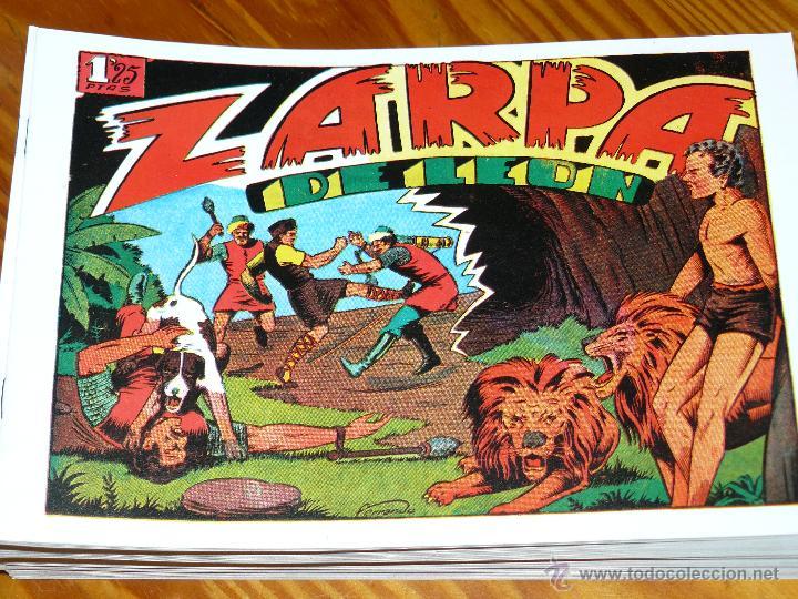 Tebeos: TEBEOS-COMICS CANDY - ZARPA DE LEON - 1949 - TORAY - COMPLETA 60 EJ. - FERRANDO *AA99 - Foto 7 - 43064589