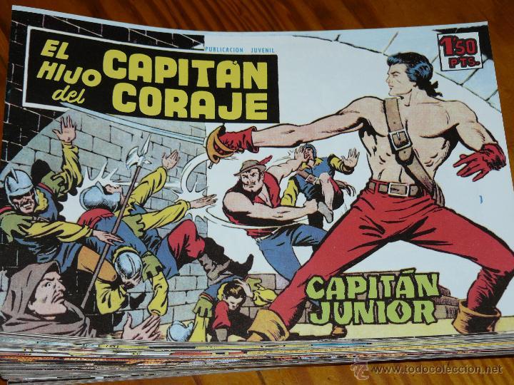 TEBEOS-COMICS CANDY - EL HIJO DEL CAPITAN CORAJE - 1959 - TORAY - COMPLETA 52 EJ - FERRANDO *AA99 (Tebeos y Comics - Tebeos Colecciones y Lotes Avanzados)