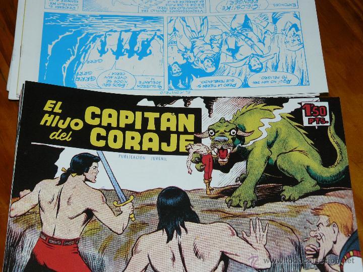 Tebeos: TEBEOS-COMICS CANDY - EL HIJO DEL CAPITAN CORAJE - 1959 - TORAY - COMPLETA 52 EJ - FERRANDO *AA99 - Foto 3 - 43065960