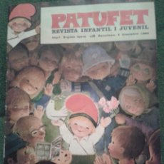 Tebeos: PATUFET. Nº 1. SEGUNDA ÉPOCA. 6-12-1968. 6 PESSETES. Lote 43271830