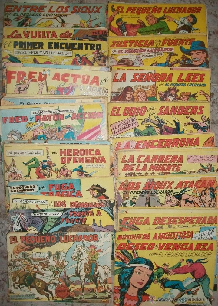 EL PEQUEÑO LUCHADOR (17X24) (VALENCIANA) 198 EJ. (LOTE) (ORIGINAL) (Tebeos y Comics - Tebeos Colecciones y Lotes Avanzados)