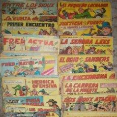 Tebeos: EL PEQUEÑO LUCHADOR (17X24) (VALENCIANA) 198 EJ. (LOTE) (ORIGINAL). Lote 6430223