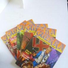 Livros de Banda Desenhada: GUERRA RELATOS GRÁFICOS PARA ADULTOS 1, 2, 3, 4 Y 5. ED ZINCO, 1982. OFRT. Lote 45476494