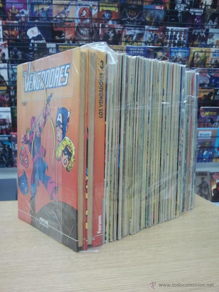 VENGADORES VOL 1 COLECCION COMPLETA (132 NUMEROS) (Tebeos y Comics - Tebeos Colecciones y Lotes Avanzados)