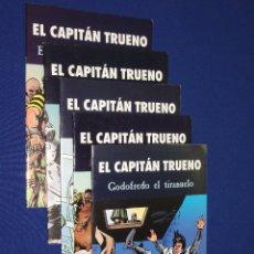 Tebeos: LOTE DE 5 EL CAPITAN TRUENO - EDICIONES B 2003. Lote 43568755