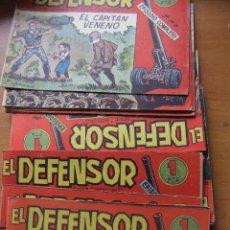 Tebeos: EL DEFENSOR COLECCION COMPLETA MAGA ORIGINAL. Lote 43588764