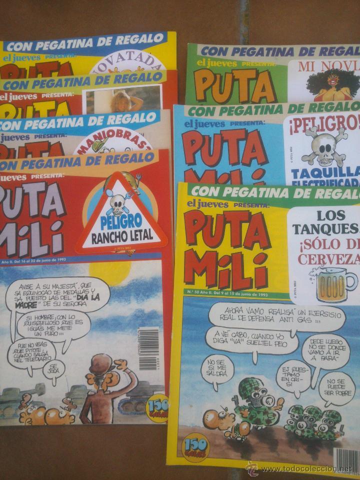 HISTORIA DE LA PUTA MILI, REVISTA EL JUEVES (Tebeos y Comics - Tebeos Pequeños Lotes de Conjunto)