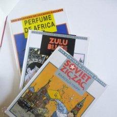 Tebeos: SOVIET ZIG-ZAG, ZULU BLUES, PERFUME DE AFRICA JACQUES GALLARD (BARCELO - TRIPP) IRU ED. 1987 OFRT. Lote 95819271
