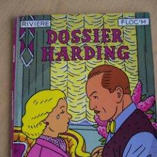 BDs: COMICS DE AUTOR. RIVIERE & FLO'H. DOSSIER HARDING DE NORMA. Lote 44111159