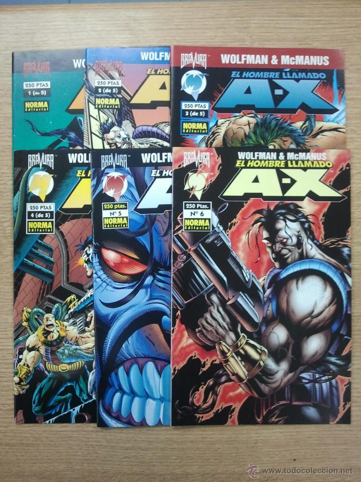 EL HOMBRE LLAMADO A-X COLECCION COMPLETA (6 NUMEROS) (Tebeos y Comics - Tebeos Pequeños Lotes de Conjunto)